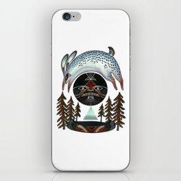 Fleeting Full Moon iPhone Skin