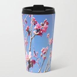 Blue Blossoms 03 Travel Mug