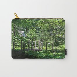 A Turn in the Garden Carry-All Pouch