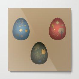 Chicken Egg  Metal Print