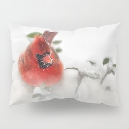 Winter Cardinal Pillow Sham