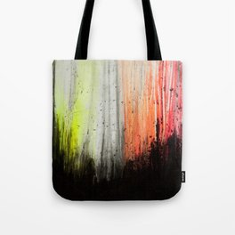 Trees in Neon Tote Bag