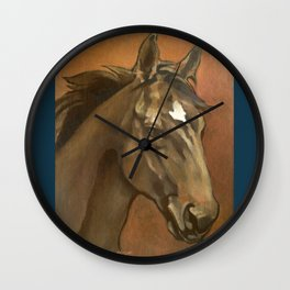 Sound Reason - Thoroughbred Stallion Wall Clock