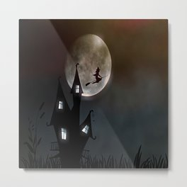 Flying Witch, Another Day in Life Metal Print