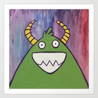 Monsters: Jimmy Art Print