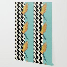 Parrot Pattern Wallpaper