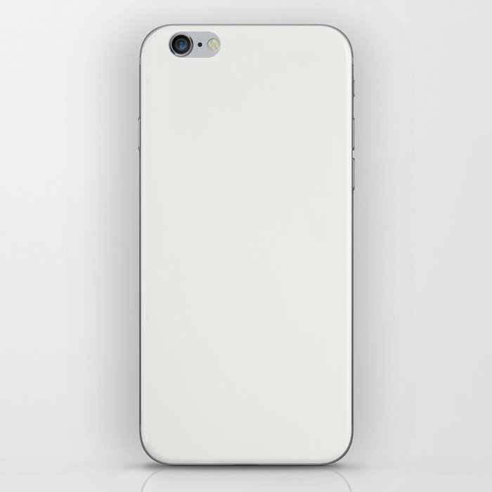 Neutral Off White Inspired by PPG Glidden Delicate White PPG1001-1 Solid Color iPhone Skin