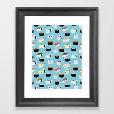 Sushi! Framed Art Print