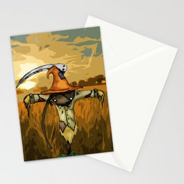 Scarecrow Tattoo Stationery Cards