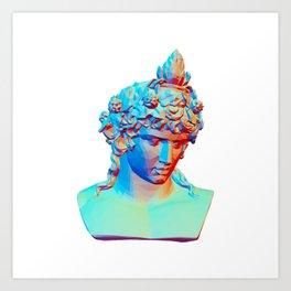 Bust of Antinous as Dionysus Art Print