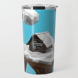 lowpoly winter Travel Mug