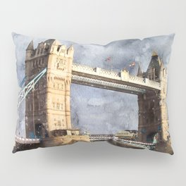 London, Tower Bridge  Pillow Sham