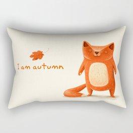 I am autumn (1) Rectangular Pillow
