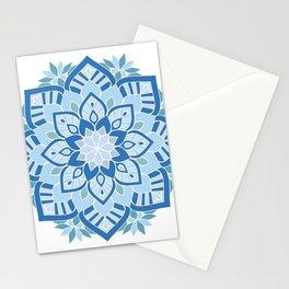 Light Blue Mandala Stationery Cards