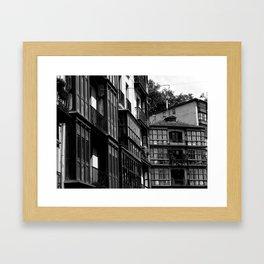 Casco Viejo de Bilbao  Framed Art Print
