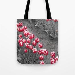 Tulip pop Tote Bag
