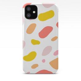 pink giraffe iPhone Case