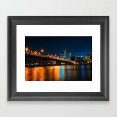 Bridgetown Framed Art Print