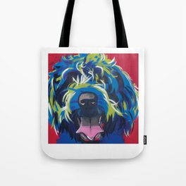 Blue Dog Wirehaired Griffon Tote Bag