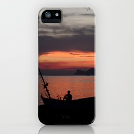 A Fisherman's life  iPhone Case
