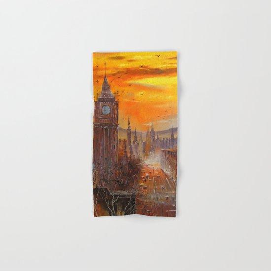 London Evening Hand & Bath Towel