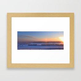 Tanana Valley Winter Framed Art Print