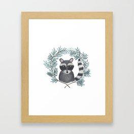 Banjo the Raccoon Framed Art Print
