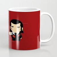 pulp Mugs featuring pulp fiction by sEndro