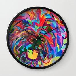 Abstract Doggo Wall Clock