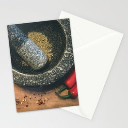 Mortar and Pestle. Stationery Cards