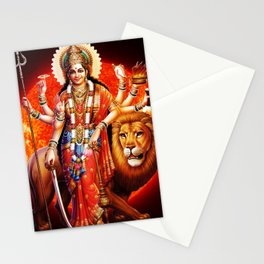 Hindu Durga 8 Stationery Cards