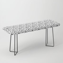 Hand Drawn Hypercube Bench