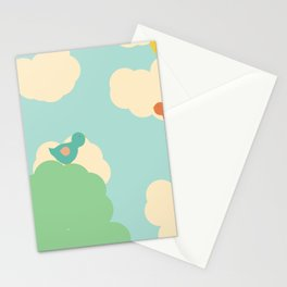 Birds in the Sky Stationery Cards