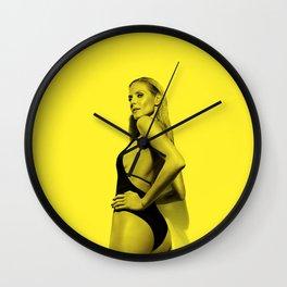 heidi klum - Celebrity (Photographic Art) Wall Clock