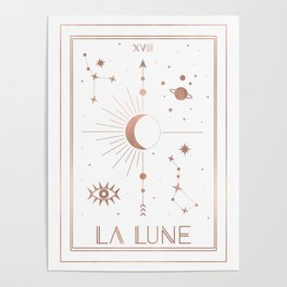 La Lune or The Moon White Edition Poster