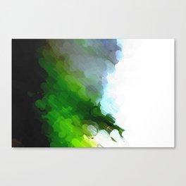 Green Dot Paint Canvas Print