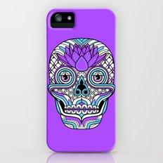 Lotus Skull iPhone (5, 5s) Slim Case