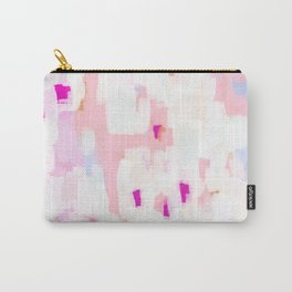 Netta - abstract painting pink pastel bright happy modern home office dorm college decor Tasche