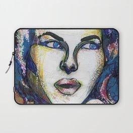Pop Art Woman Laptop Sleeve