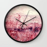 concrete Wall Clocks featuring concrete by Claudia Drossert