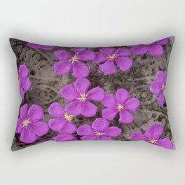 PEPPER AND FLOWERS Rectangular Pillow
