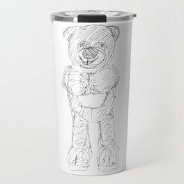 A stuffed bear Travel Mug