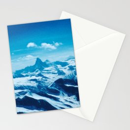 Winter Wonderland up in the Mountains #1 #art #society6 Stationery Cards
