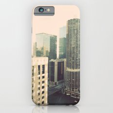 Chicago River Marina Tower Color Photo iPhone 6s Slim Case