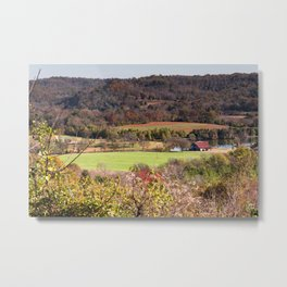 Down In The Valley - Natchez Trace Metal Print