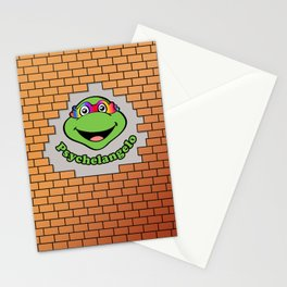 Psychelangelo - The Lost Ninja Turtle Stationery Cards
