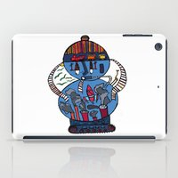 tank girl iPad Cases featuring tank of the world by JBLITTLEMONSTERS