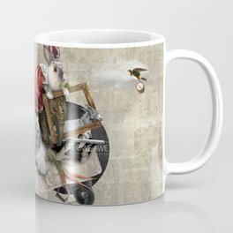 WE OWE AWE (Totem of the Rabbit) Coffee Mug
