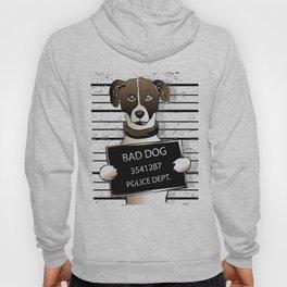 cartoon dog prisoner Hoody