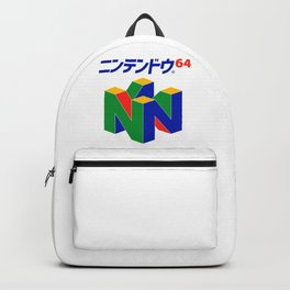 Japanese Nintendo 64 Pullover Backpack